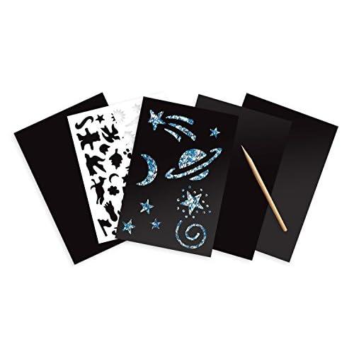 Scratch Art Magic Scratch and Sparkle Combo 4-Pack