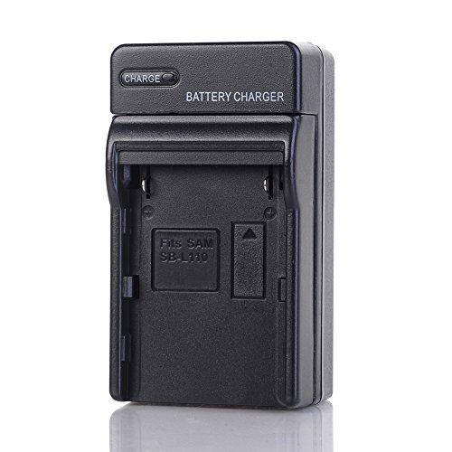 Battery Charger for Samsung SB-L110A SB-L160 SB-L320 and Samsung SCL700 SCL710 SCL750 SCL770 SCL810 SCL860 SCL870 SCL901 SCL903 SCL906 SCL907 MiniDV Camcorder