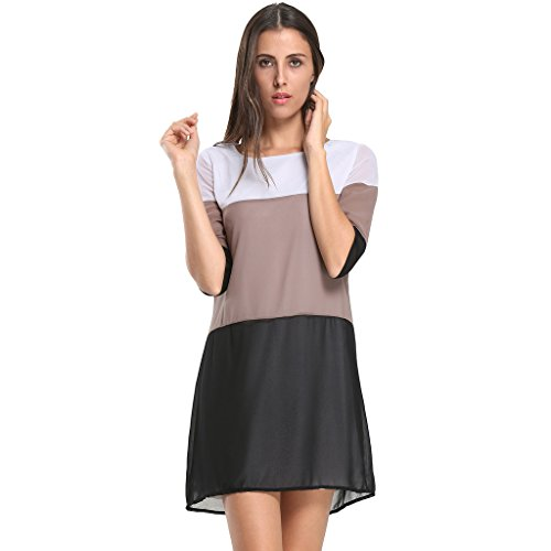 Persun Womens Chiffon Sleeve Length