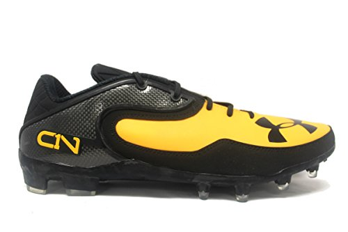 Under Armour Team Cam Low MC Football Cleat Black/Gold