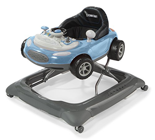 Storkcraft Mini-Speedster Activity Walker, Blue