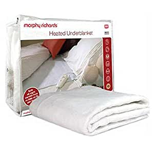 King Size Electric Blanket Morphy Richards King Electric Blankets