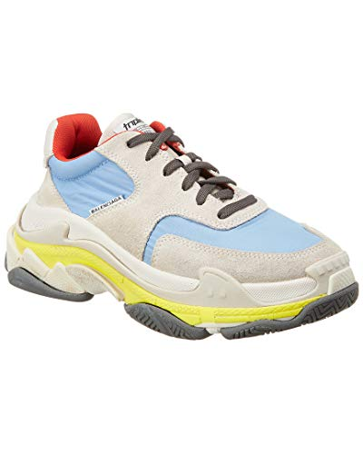 Balenciaga Triple S Leather & Suede Sneaker, 35
