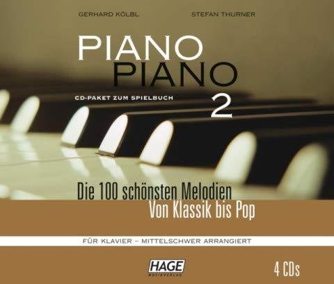 Gerhard Taschenbuch Piano Piano 2 mittelschwer Kölbl