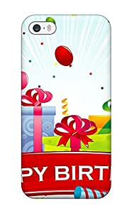 Fashion WDucOQs2987iFyTC Case Cover For Iphone 5/5s(happy Birthday Gifts And Balloons )