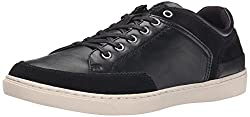 CK Jeans Men's Zash Smooth/Suede Fashion Sneaker, Midnight, 13 M US