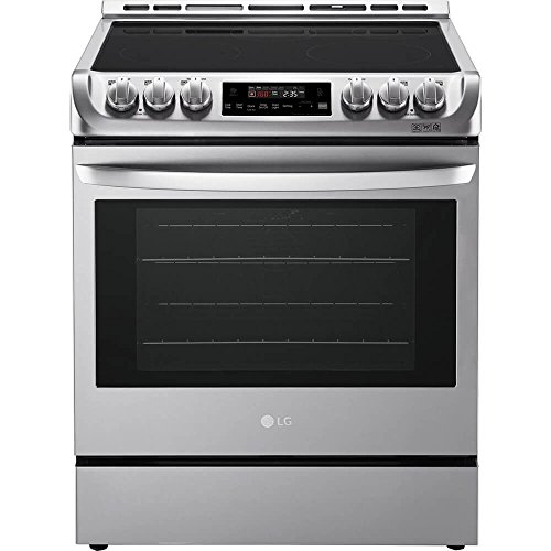 - LG LSE4611ST 6.3 Cu. Ft. Stainless Slide-In Electric Convection Range