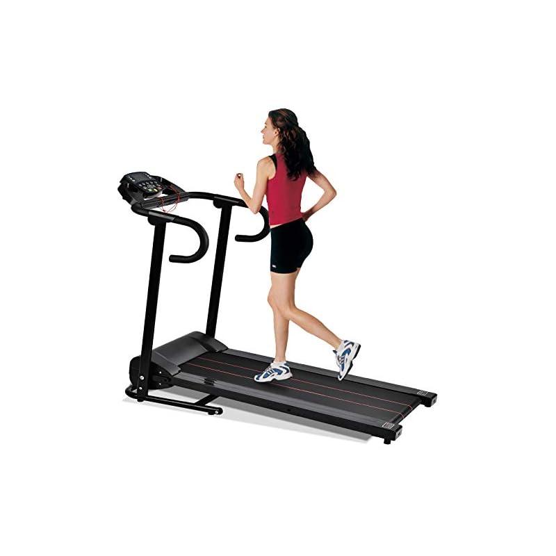Murtisol 1100W Folding Treadmill Electri