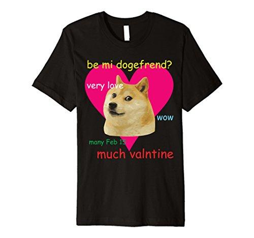 Doge Meme Shirt Valentine's Day Doge - Buy Online in Oman