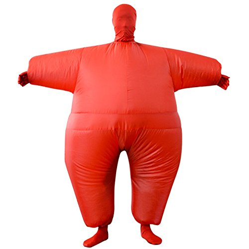 Inflatable Costume Full Bodycon chub Suit Cosplay Halloween Funny Fancy Dress Blow up Party Toy for Adult by EasyLiving (Image #2)