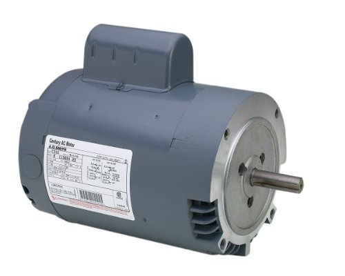A.O. Smith C635 1/2 HP, 1725 RPM, 115/208-230 Volts, 56C Frame, ODP Enclosure, Ball Bearing Capacitor Start Motor (56c Bearing Motor Ball Frame)