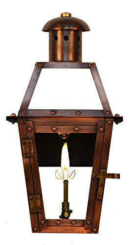 The CopperSmith Georgetown 15.5″ Gas Lantern For Sale