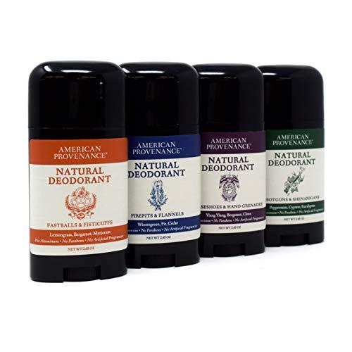 - 4-Pack American Provenance Herbal Signature Scent Natural Deodorant (2.65oz x 4)