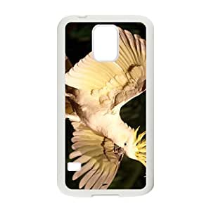 White Parrot Hight Quality Plastic Case for Samsung Galaxy S5