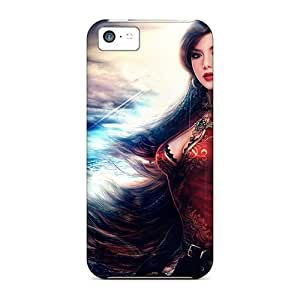 Iphone 5c Case Slim [ultra Fit] Beauty Girl Protective Case Cover