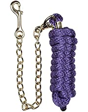 Roma Continental Lead Rope With Chain (Full) (Purple)