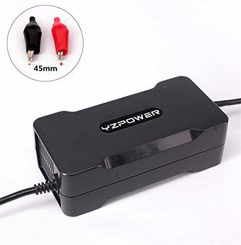 YZPOWER 54.6V 4A Lithium Li-ION Li-Poly Chargeur de Batterie pour 13 Sé rie 48 V É lectrique Vé lo Alligator Clip Plug
