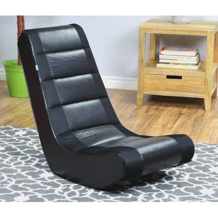 Original Classic Crew Furniture Video Rocker Style in Black/Black