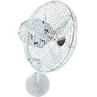 Matthews MP-CR-MTL, Michelle Parede Chrome 13 Wall Fan with Wall Control