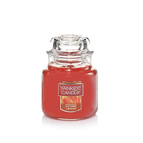 Yankee Candle AUTUMN LEAVES Small Jar Candle - New Labeling for -