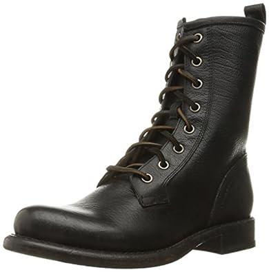 Amazon.com | FRYE Women's Jenna Combat Boot | Mid-Calf