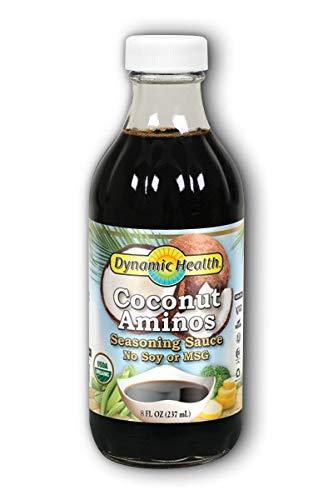 Coconut Aminos Certified Organic Dynamic Health 8 oz Liquid