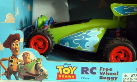 TOY Story R C Free Wheel Buggy by Thinkway Toys (Rc Toy Story Remote Control Car)