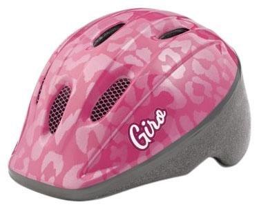 Image of the Giro GH26160 Youth Me 2 Bike Helmet, Pink Leopard