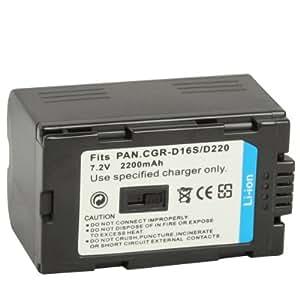 D16S/CGR-D220 Batería para Panasonic Digital Camera