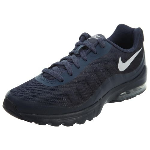 Nike Men's Air Max Invigor Print Running Shoe, Thunder Blue/vast Grey/Obsidian, 9 D US ()