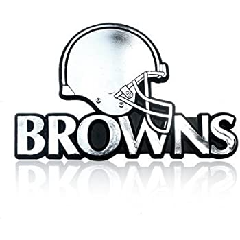 "NFL Officially Licensed Houston Texans Helmet Premium Aluminum Emblem 4/""x3.5/"""