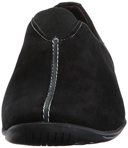 Berceaux De Marche Womens Adria Style De Conduite Mocassins Black Roughout