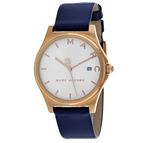 Marc by Marc Jacobs Women's MJ1609 Henry Analog Display Analog Quartz Blue Watch