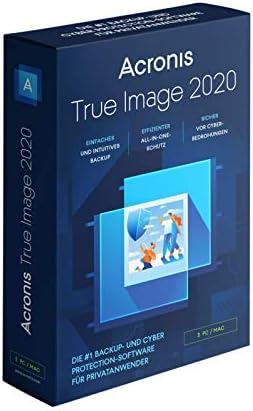 Acronis True Image 2020 Standard Edition per 3 Mac/PC (perpetuo)