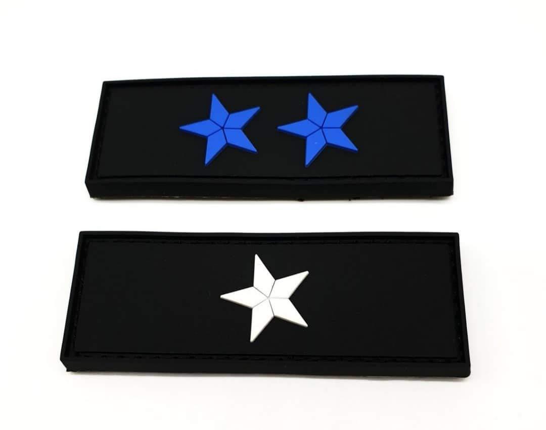 Polizeimemesshop Zoll Inspektor Dienstgrad PVC Patch