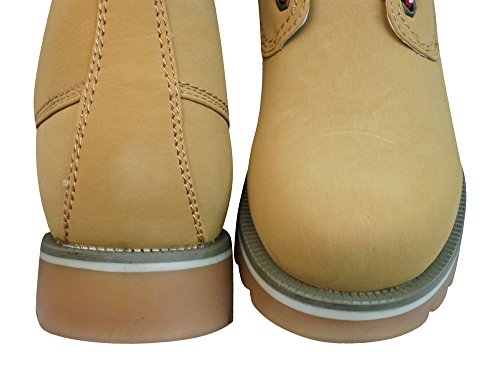 Fabulous Fabs Womens Lace Up Boots Tan JzjEYQS9g