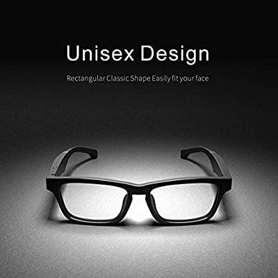 IMCROWN Smart Wireless Bluetooth Headset Glasses,Waterproof Audio Sunglasses for Men Women Fashion Glasses Healthy Glasses Compatible with Various Smart Bluetooth Devices