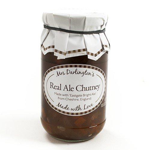 Mrs Darlingtons Real Ale Chutney (10.6 ounce) - Tomato Garlic Chutney