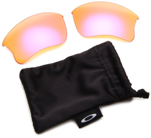 Oakley Flak Jacket XLJ Replacement Lens,Multi Frame/High Intensity Persimmon Lens,One Size