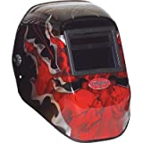 FMX Tigerhood® Futura® Welding Helmets - fmx demon tigerhood autodkning var shades 9-13