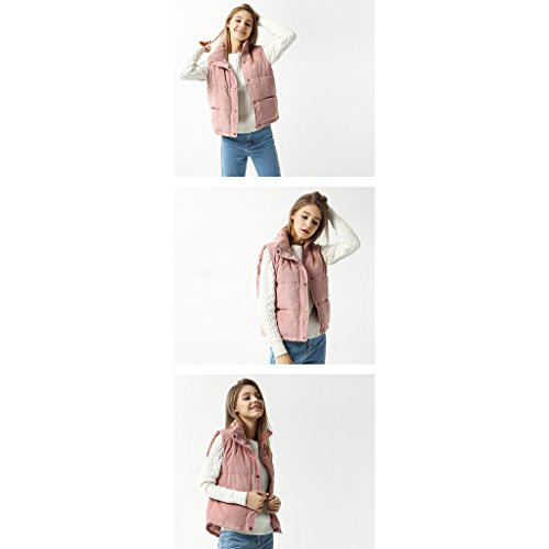 Corto Autunno Donna Smanicato Da Dimensioni S Inverno D Xiang A colore Cappotto Shop Li Shi WZwfqCx0g