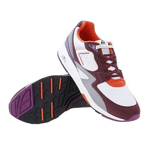 Grigio Sportif Mesh 800 R Port Sneakers Uomo Royale Le LCS Coq Viola Viola 90s Suede Vinaccia f5qxwxv7X