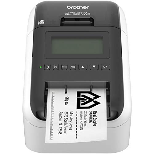 Brother QL-820NWB Professional Ultra Flexible Label Printer Standard Bundle by Brother (Image #2)