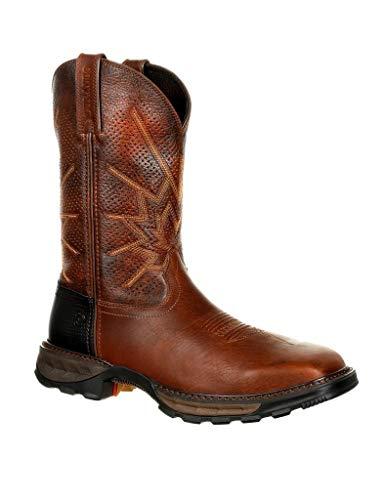 Durango Work Boots Mens Maverick XP Square Toe 8.5 W Tobacco DDB0175