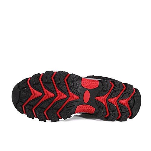 Schuhe Atmungsaktive Wanderschuhe 35 Herren Trekking Hiking Schwarz Dreamshow Wanderhalbschuhe Sneaker Schuhe 47 Leichte Damen Outdoor 0Edqap7w