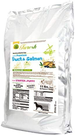 Furesh Dry Dog Food w Premium Duck Salmon