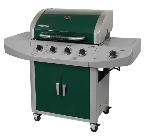 The Brinkmann Corporation 810-2455-G 4-Burner Gas Grill