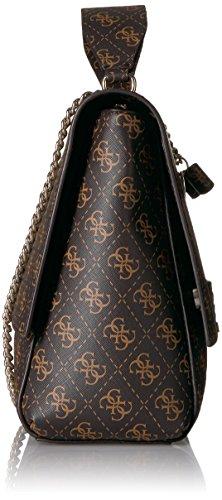GUESS Ryann Logo Shoulder Bag, Brown by GUESS (Image #3)