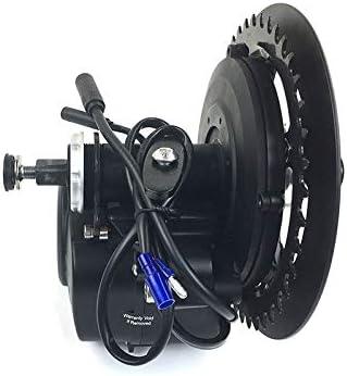Schuck TongSheng TSDZ2 36V 350W Kit de Motor de manivela de Medio Motor DIY eBike Sensored de Torque Kit de conversión de Motor Central de Bicicleta eléctrica con Pantalla XH-18: Amazon.es: Deportes