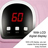 UV LED Nail Lamp 54W, Professional Nail Dryer Gel